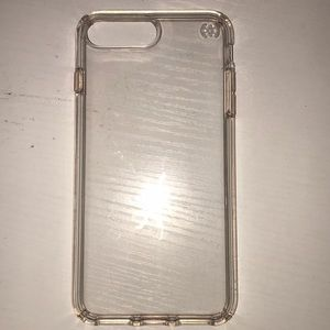 Speck iPhone 6/7/8 plus clear case